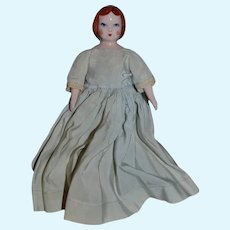 Old Sweet Ruth Gibbs Doll Sweet! Red Head China Head