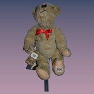 Vintage Teddy Bear The Nisbet Celebrity Collection Fritz Ferschl 1988 Yes No Bear