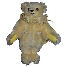 Vintage Teddy Bear Mohair Jointed Bouffa Bears Limited Ed Only 100 made Amy Jo Bouffard The Yellow Rose of Texas W/ Tag Artist