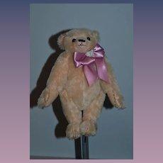 Vintage Teddy Bear Artist Bear Mohair Jointed Bouffa Bears By Mary Jo Bouffard Signed & Dated LTD. ED.