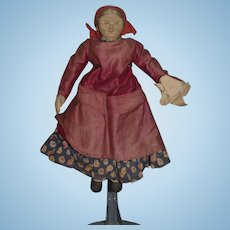 Old Doll Cloth Doll Rag Doll Tea Caddy Tea Cozy Tea Cosy Stockinette Charming