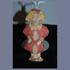 Old Doll Cloth Doll Rag Doll Printed Miniature Sweet Character