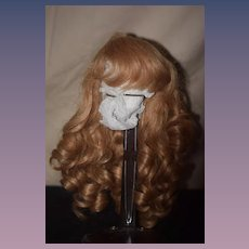 Wonderful French Human Hair Wig Sewn Gorgeous