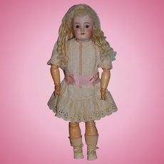 Antique Doll Bisque Simon & Halbig 570 Bisque Doll Gorgeous