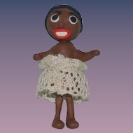 Unusual Doll Black Artist Doll Miniature Dollhouse Character