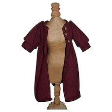 Wonderful Doll Vintage Wool Coat Jacket