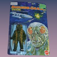 Vintage Battlestar Glactica Ovion Mattel in ORIGINAL package