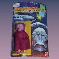 Vintage Doll Figure Battlestar Galactica Imperious Leader Mattel in Original Package