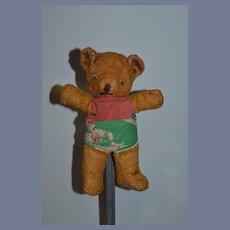 Vintage Teddy Bear w/ Googly Eyes Sweet