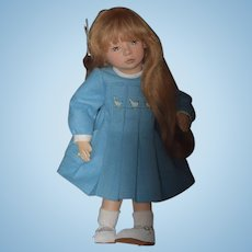 Wonderful Doll Maggie Iacono Cloth Doll Brooke Cloth Ball Jointed GORGEOUS Doll No. 10 out of 75