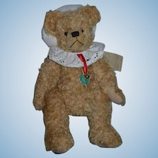 Vintage Hermann Teddy Bear Santa Bear Christmas Bear German Mohair Jointed