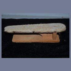 Old Doll Miniature Ironing Board Wood