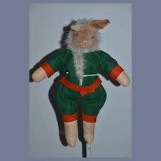 Unusual Mask Face Rabbit Doll Bunny Cloth Doll