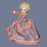 Wonderful Doll Outfit Two Piece Set For French Doll