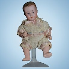 Antique Doll Heubach Baby Doll Miniature Dollhouse Dressed Character