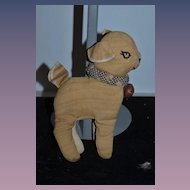 Old Cloth Deer Charming Rag Doll Stuffed Animal