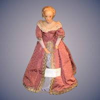 Wonderful Doll Poured Wax French Doll Wife of Louis XIII Candy Container