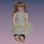 "Antique Doll Simon & Halbig 540 Bisque Head Doll 22"" Tall"