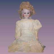 Antique Doll Carl Bergner Three Face Doll Bisque Head Sweet!
