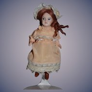 Antique Doll Miniature Bisque French Doll Dollhouse