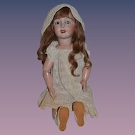 """Antique Doll French Bisque """"Favorite"""" Limoges Beauty! 27"""" Tall"""