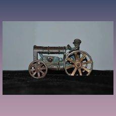 Old Cast Iron Arcade Miniature Tractor Dollhouse 1030's Farm Tractor