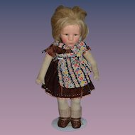 Old Kathe Kruse Doll Wonderful Character Doll