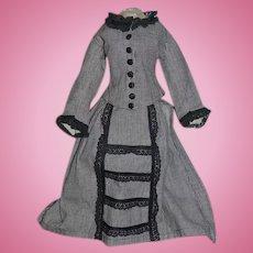 Wonderful Two Piece Dress Skirt Jacket For Doll