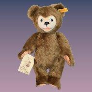 Wonderful Vintage Clifford Berrymann Bear Steiff W/ Button Tag and Card Linda Mullins