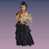 Old Cloth Doll Raquel Meller French Doll