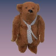 Artist Teddy Bear Zeke  Linda Spiegel Private Collection Jointed Character ADORABLE