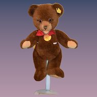 Sweet Teddy Bear Jointed ORSI Steiff W/ Button Tag and Chest Tag