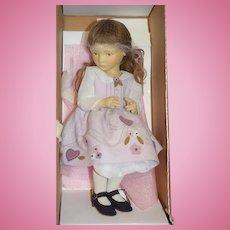 Artist Doll Maggie Iacono Cloth Doll In Original Box