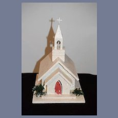 Vintage Miniature Church Doll Musical