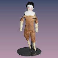 Antique Doll China Head Miniature Dollhouse Early