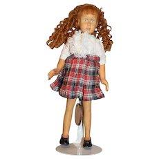 "Carved Wood Doll Robert Raikes ""Kaitlyn"" Limited Edition"