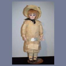 Wonderful Vintage Neva Wade Garnett Doll Artist Calli Lou Award Winning Doll Dress Bonnet  OUTFIT