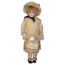 Vintage Neva Wade Garnett Doll Artist Calli Lou Award Winning Doll Dress Bonnet  OUTFIT