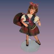 Vintage Doll Happy Dolls England W/ String Tag