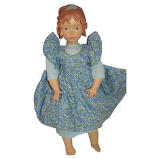Sweet Doll Hand Carved Wood Ado Santini Limited Edition DOLFI Italian Doll Jointed