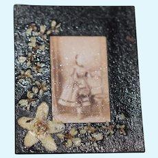 Wonderful Artist Doll Miniature Frame TINY Adorable for Dollhouse