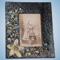 Wonderful Artist Doll Miniature Frame TINY Adorable for Dollhouse