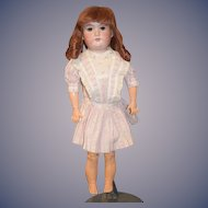 "Antique Doll Bisque Head George Borgfeldt GB Sweet Doll 22"" Tall"