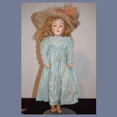 Antique Doll French Doll Lanternier Prevost Huret Closed Mouth Fashion Doll
