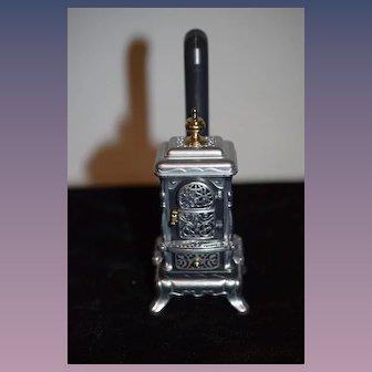 Wonderful Doll Miniature German Stove Bodo Hennig Metal Parlor Oven