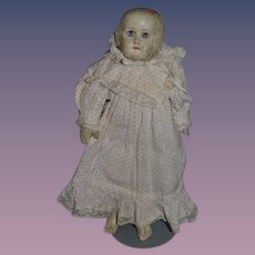 Antique Doll Martha Chase Stockinette Doll Sweet Size Cloth Doll Oil Cloth Doll