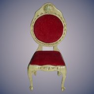 Sonja Messer Sonia Messer Miniature French Upholstered Chair Dollhouse in Original Box