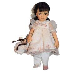 Artist Doll Pauline Paulinettes Bisque Cabinet size Doll