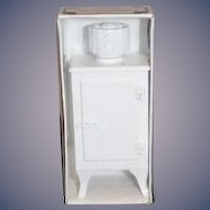 Cast Iron Refrigerator in Original Box Dee's Delights, Inc.  Miniature Dollhouse