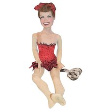 Vintage Doll Artist Doll Ron Kron Character Esther Williams Signed